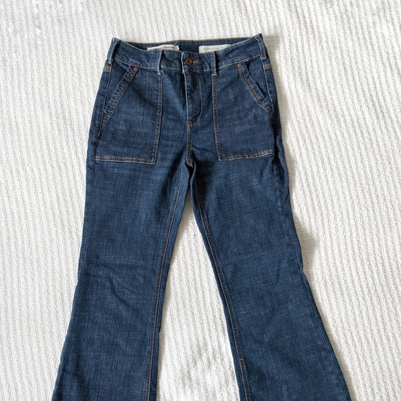 Pilcro and the Letterpress Denim - Bootcut, High Rise Jeans from Anthropology.
